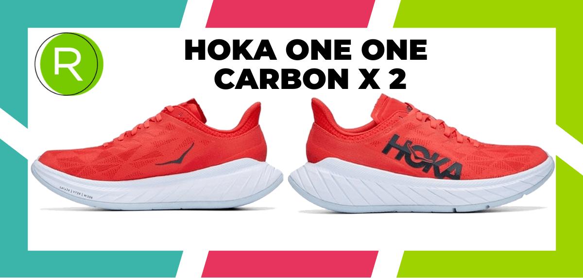 Mejores zapatillas running para correr un maratón - HOKA ONE ONE Carbon X 2