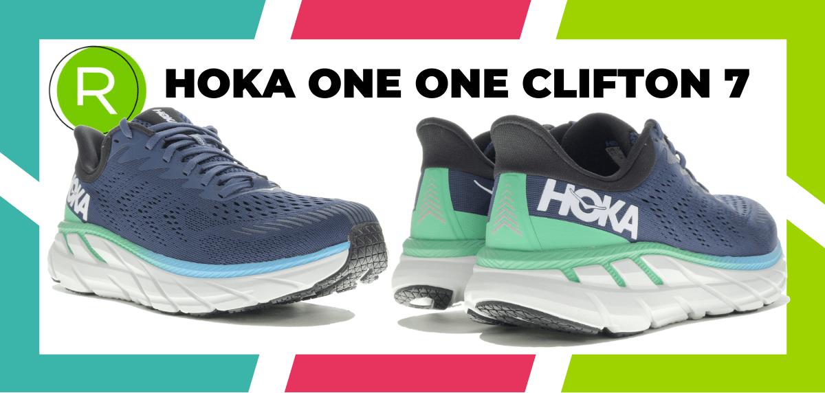 Mejores zapatillas running para correr un maratón - HOKA ONE ONE Clifton 7