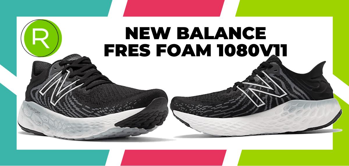 Mejores zapatillas running para correr un maratón - New Balance Fresh Foam 1080 v11