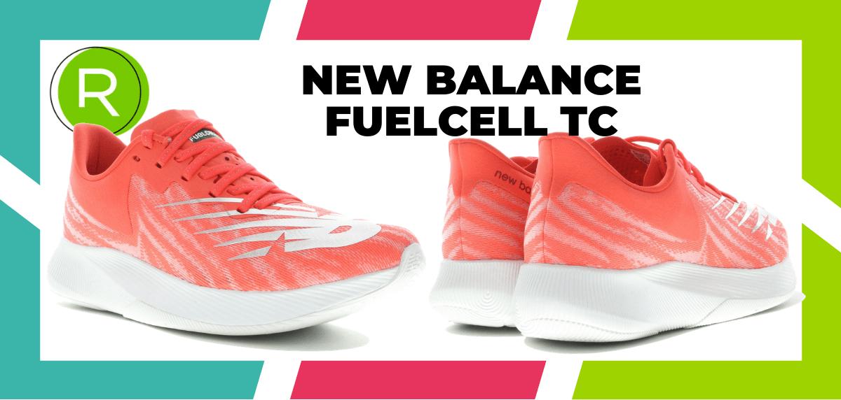 Mejores zapatillas running para correr un maratón - New Balance FuelCell TC