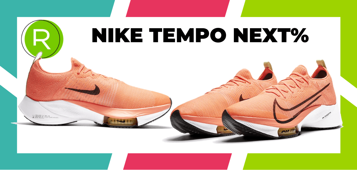 Mejores zapatillas running para correr un maratón - Nike Tempo Next%