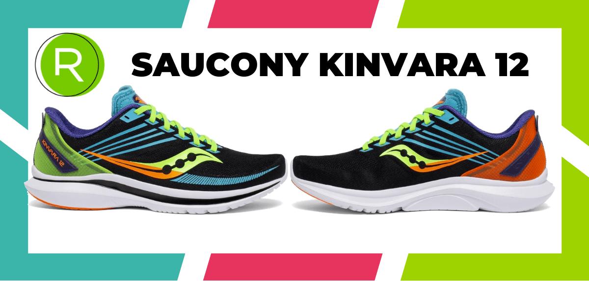 Mejores zapatillas running para correr un maratón - Saucony Kinvara 12