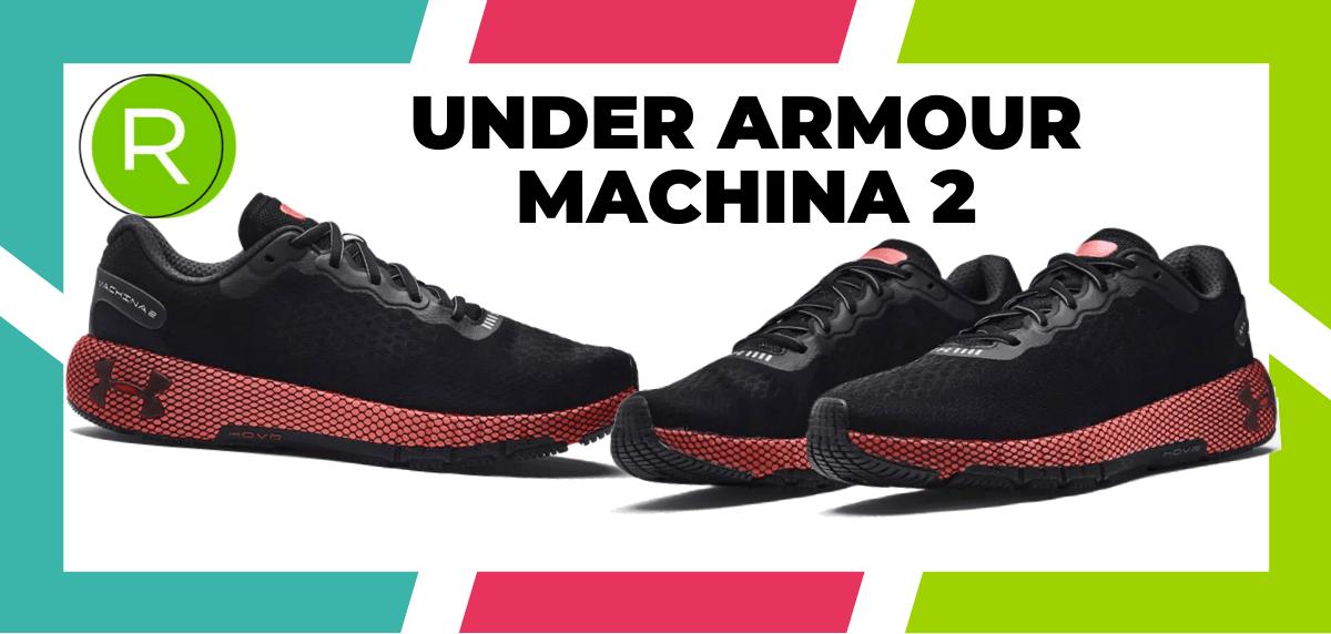 Mejores zapatillas running para correr un maratón - Under Armour HOVR Machina 2