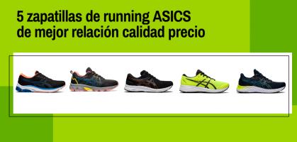 Las 5 zapatillas de running ASICS de mejor relación calidad precio