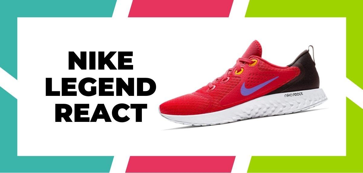 Las 9 mejores zapatillas de Nike con la tecnología React de 2021, Nike Legend React