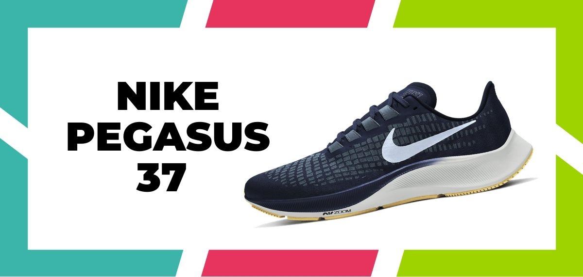 Las 9 mejores zapatillas de Nike con la tecnología React de 2021, Nike Pegasus 37