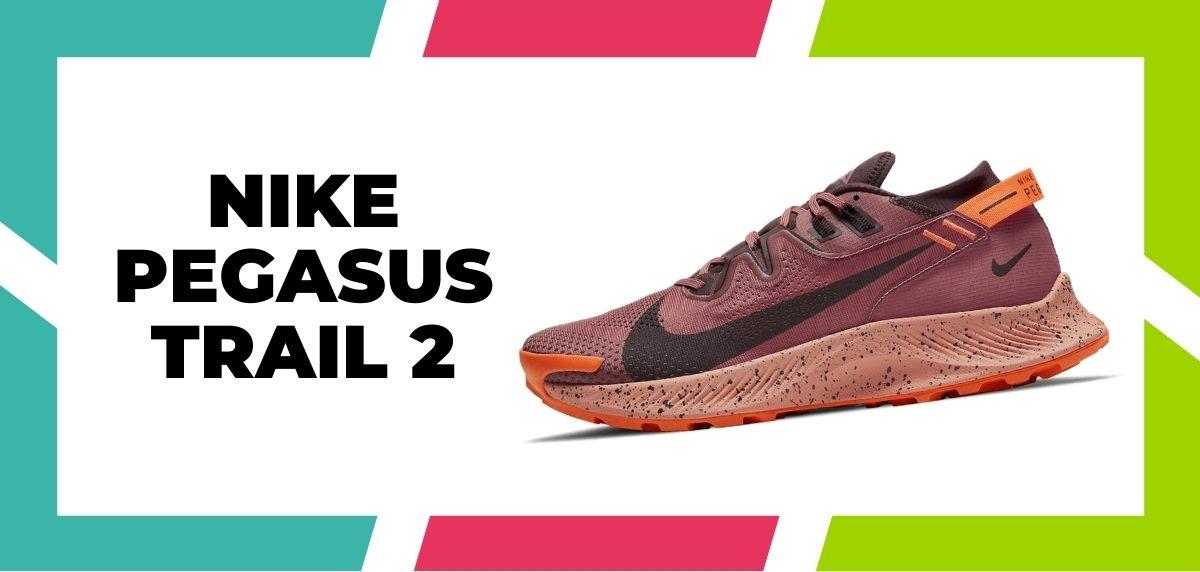 Las 9 mejores zapatillas de Nike con la tecnología React de 2021, Nike Pegasus Trail 2