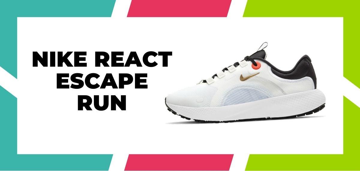 Las 9 mejores zapatillas de Nike con la tecnología React de 2021, Nike React Escape Run