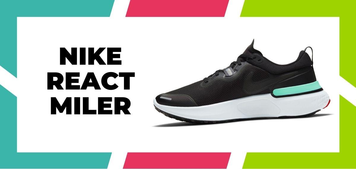Las 9 mejores zapatillas de Nike con la tecnología React de 2021, Nike React Miler