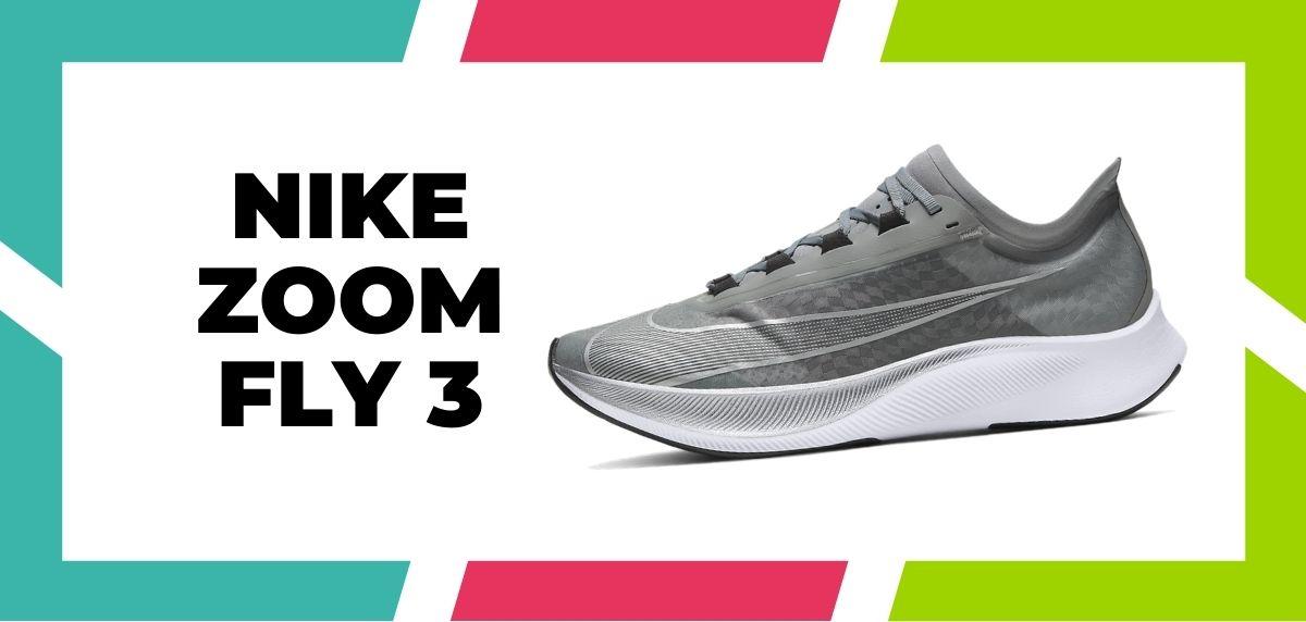 Las 9 mejores zapatillas de Nike con la tecnología React de 2021, Nike Zoom Fly 3