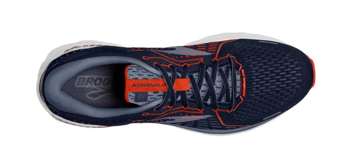 Brooks Adrenaline GTS 21, upper