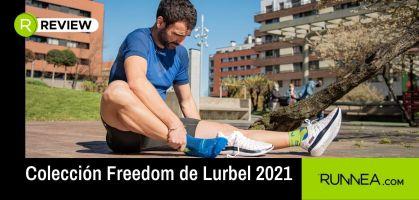 Camisetas de secado rápido y ropa técnica para correr en asfalto: nueva Colección Freedom de Lurbel 2021