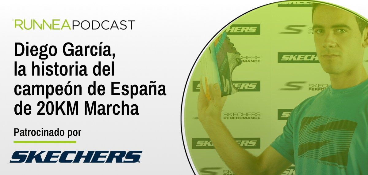 Diego García, la historia del Campeón de España de 20km marcha