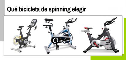 Guía para elegir qué bicicleta de spinning comprar