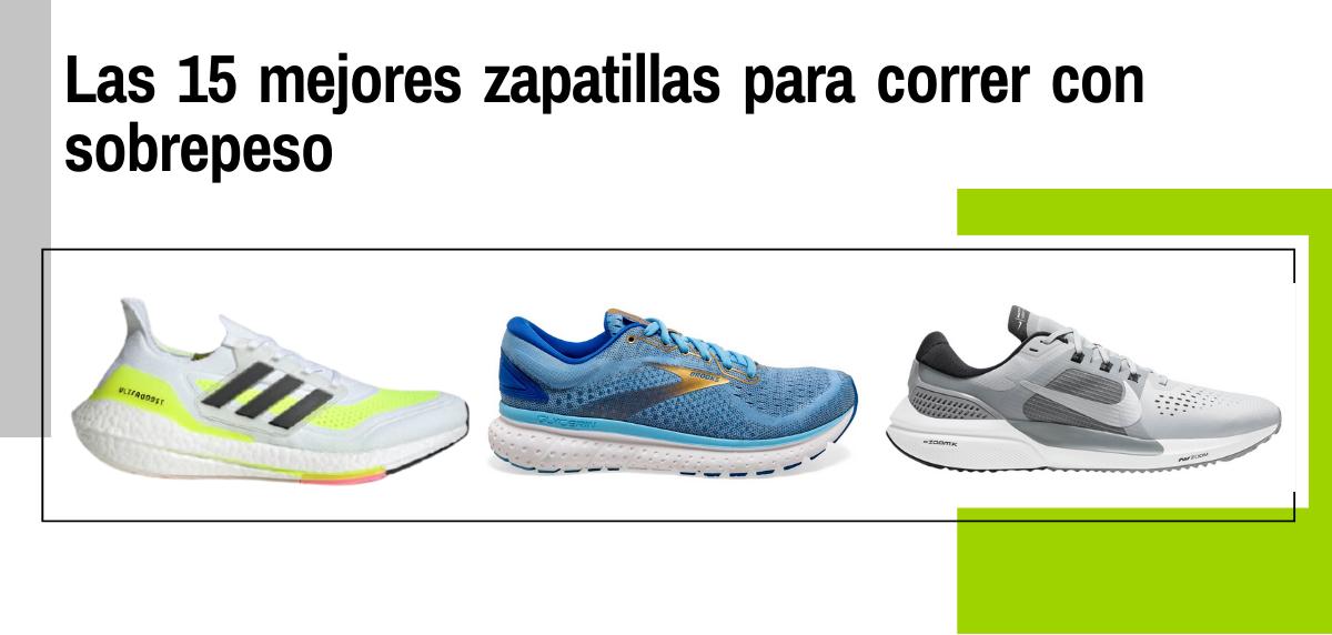 Las 15 mejores zapatillas para correr con sobrepeso