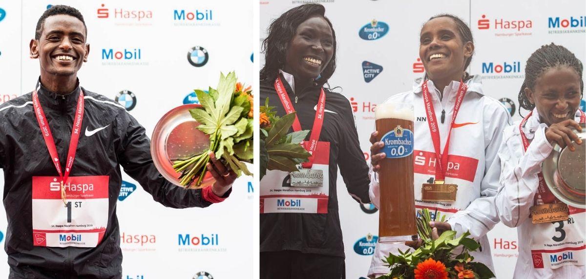 Maratón de Hamburgo 2019, ganadores