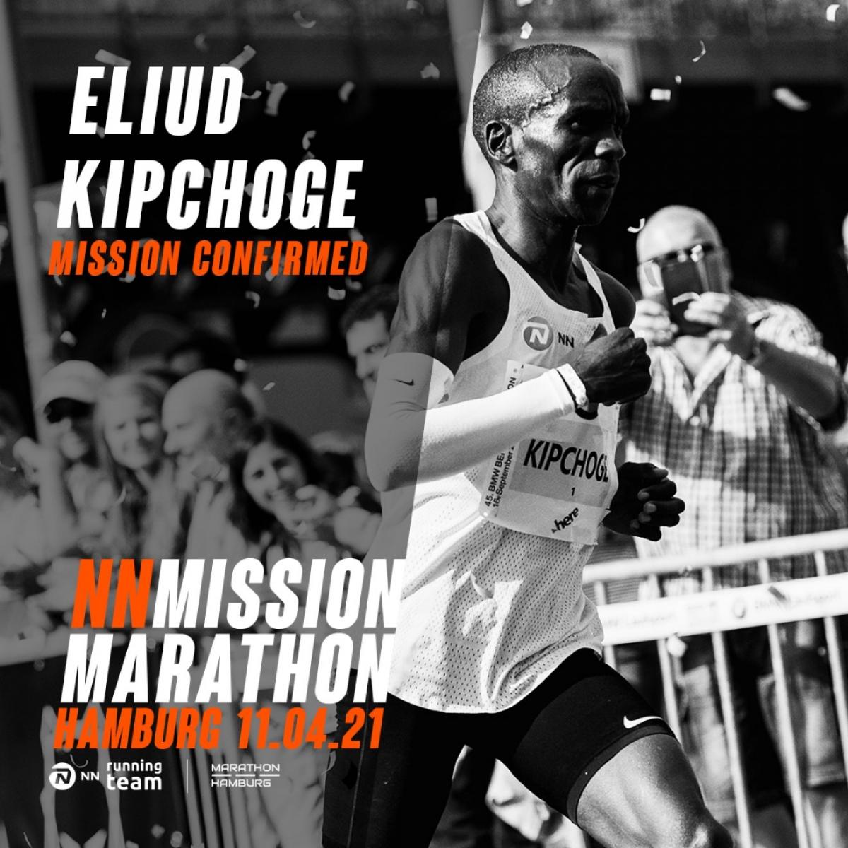 Eliud Kipchoge, Maratón de Hamburgo 2021