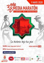 Cartel - edp Media Maratón Granada 2021