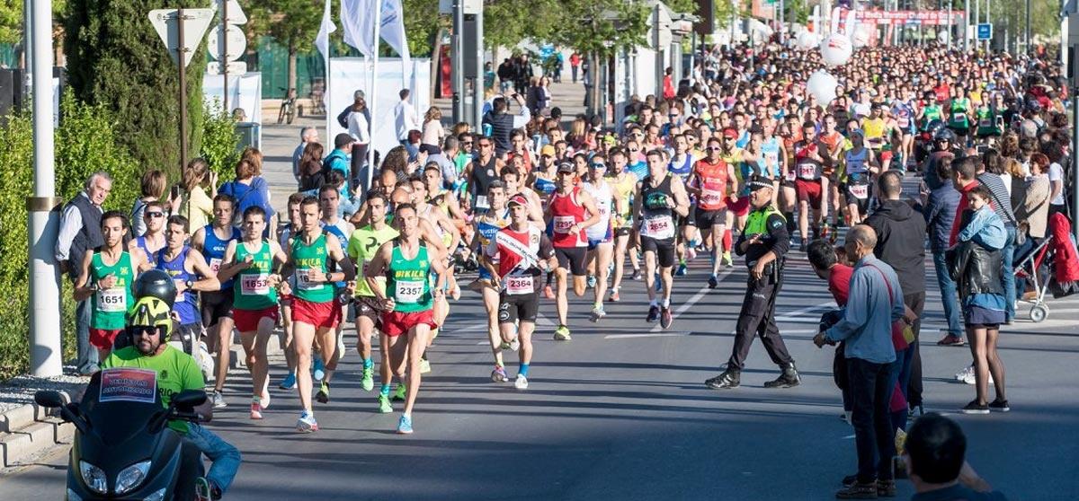 Resultados de la edp Media Maratón Granada 2019