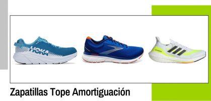 Mejores zapatillas running tope de amortiguación 2021