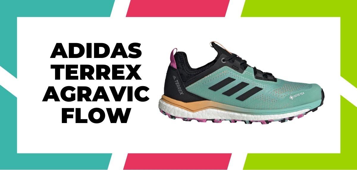 Meilleures chaussures mixtes pour combiner trail et route en 2021, Adidas Terrex Agravic Flow