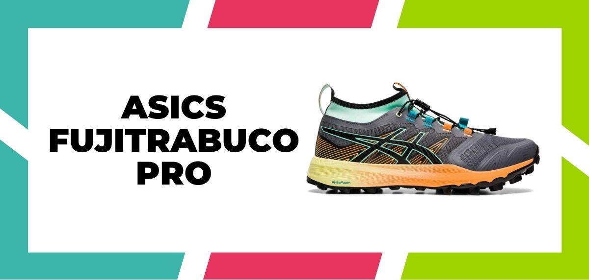 Meilleures chaussures de course mixte trail et route pour 2021, ASICS Fujitrabuco Pro
