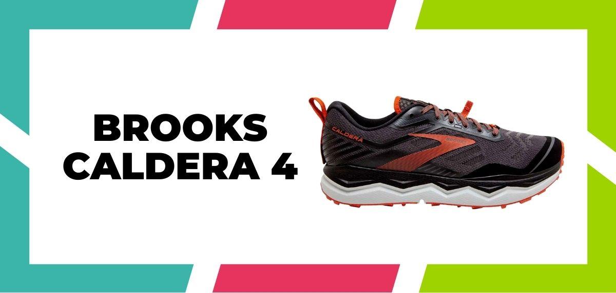 Meilleures chaussures de running mixtes pour combiner trail et route en 2021, Brooks Caldera 4