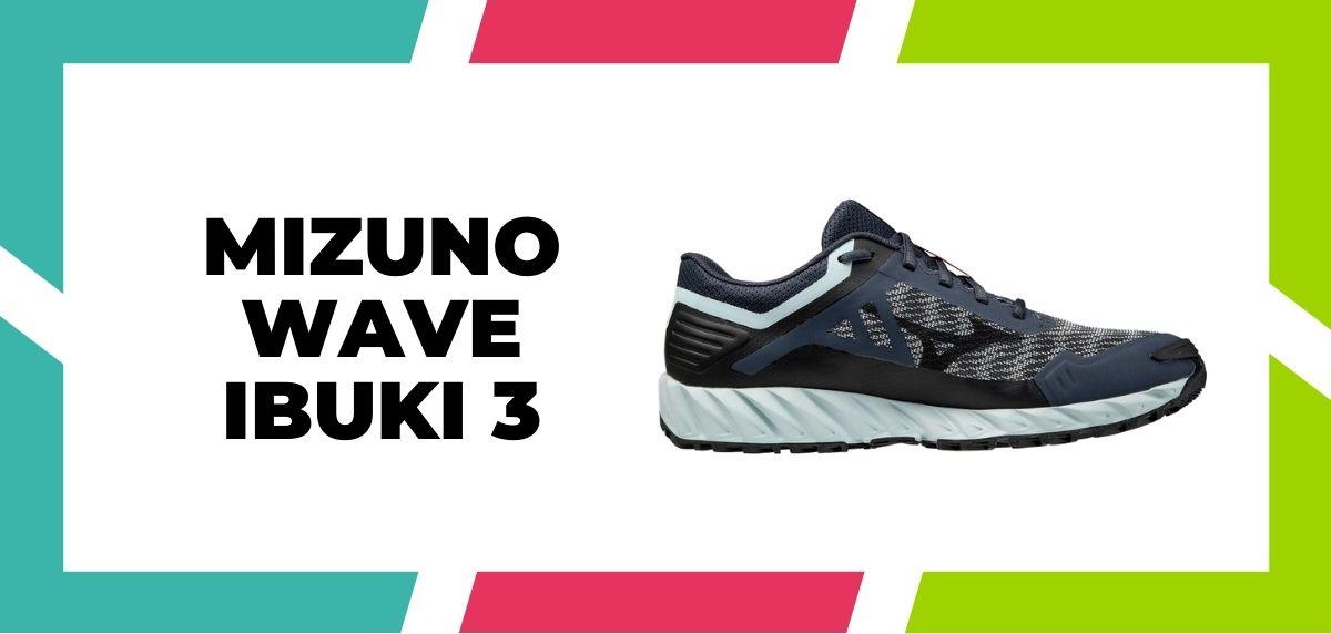 Meilleures chaussures mixtes pour combiner trail et route en 2021, Mizuno Wave Ibuki 3