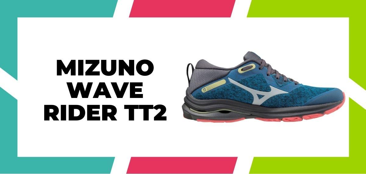 Meilleures chaussures mixtes pour combiner le trail et l'route en 2021, Mizuno Wave Rider TT2