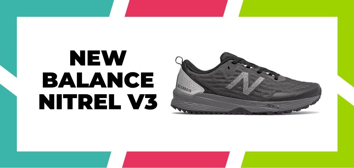 Meilleures chaussures de course mixtes pour combiner trail et route en 2021, New Balance Nitrel v3