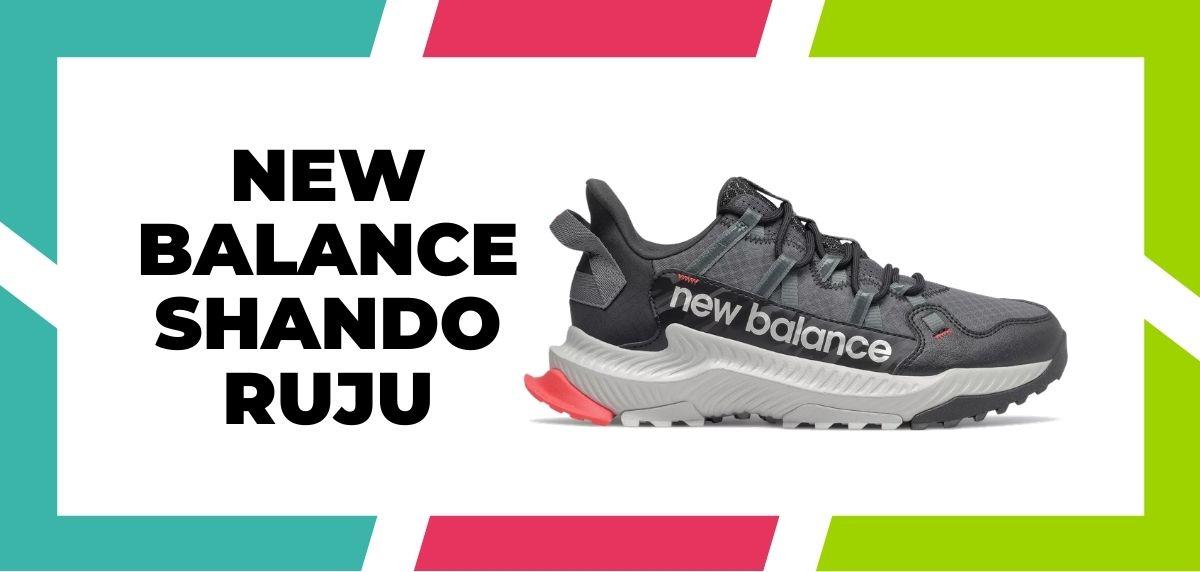Meilleures chaussures de course mixtes trail et route en 2021, New Balance Shando Ruju