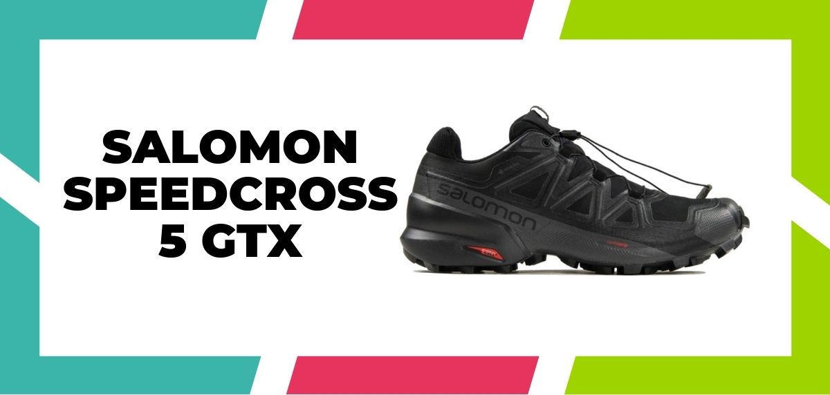 Meilleures chaussures de course mixte trail et route en 2021, Salomon Speedcross 5 gtx