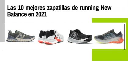 Las 10 mejores zapatillas de running New Balance en 2021