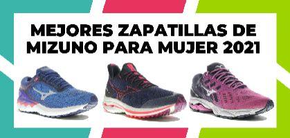 Mejores zapatillas de Mizuno para mujer de 2021