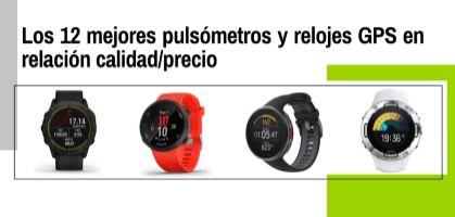 Los 12 mejores pulsómetros y relojes GPS en relación calidad/precio