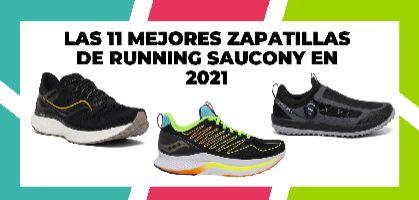 Las 11 mejores zapatillas de running Saucony en 2021