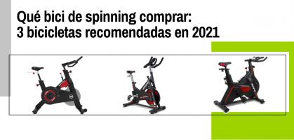 Qué bici de spinning comprar: 3 bicicletas recomendadas en 2021
