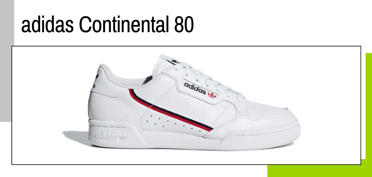 Las mejores ideas para regalar a un papá runner - zapatillas sneaker: adidas Continental 80