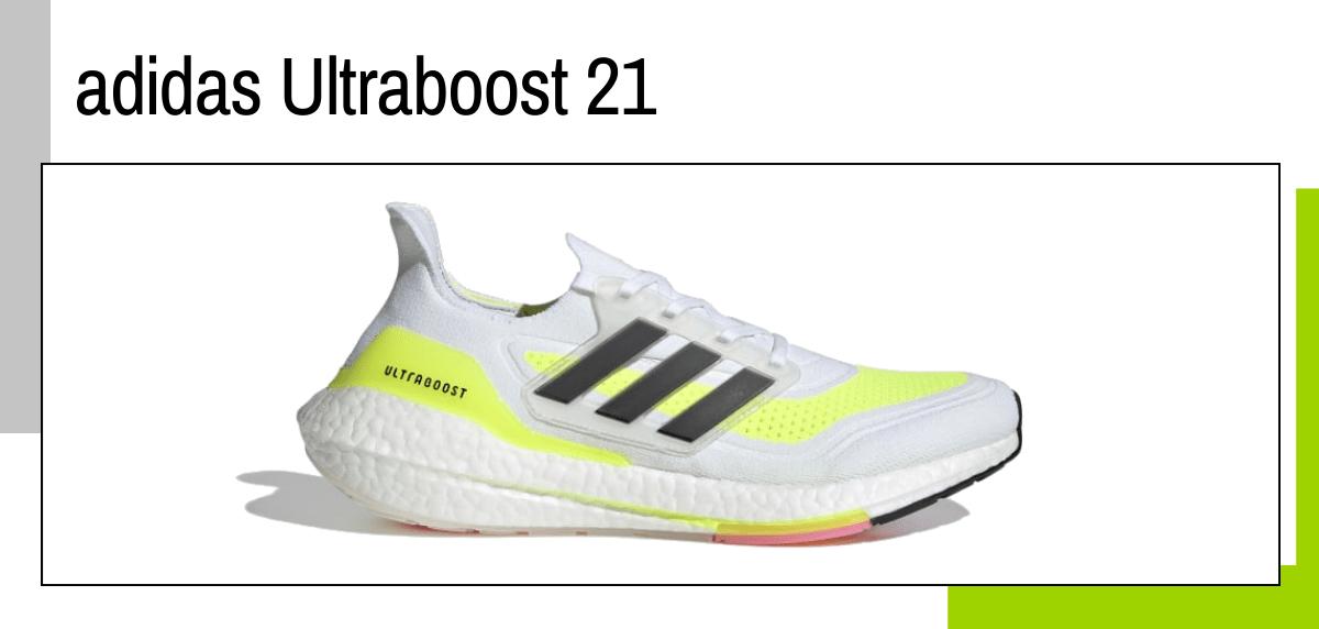 Las mejores ideas para regalar a un papá runner - zapatillas running: adidas ultraboost 21