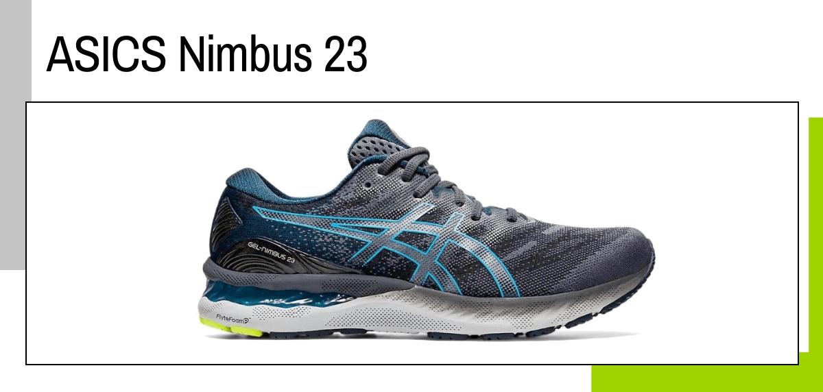Las mejores ideas para regalar a un papá runner - zapatillas running: ASICS Nimbus 23