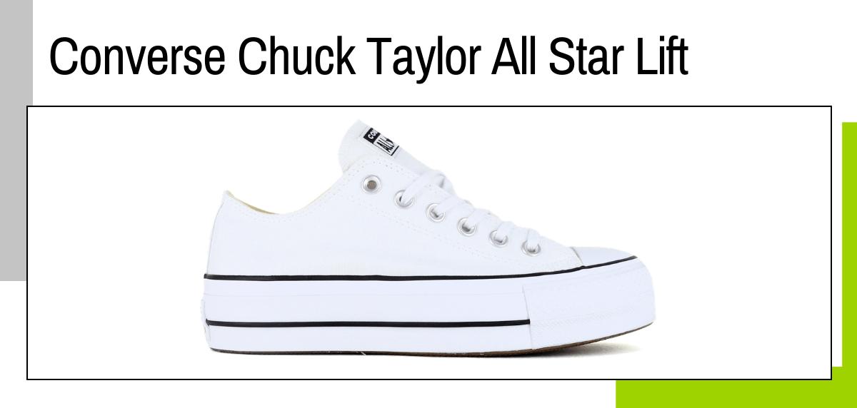Las mejores ideas para regalar a un papá runner - zapatillas sneaker: Converse Chuck Taylor All Star Lift
