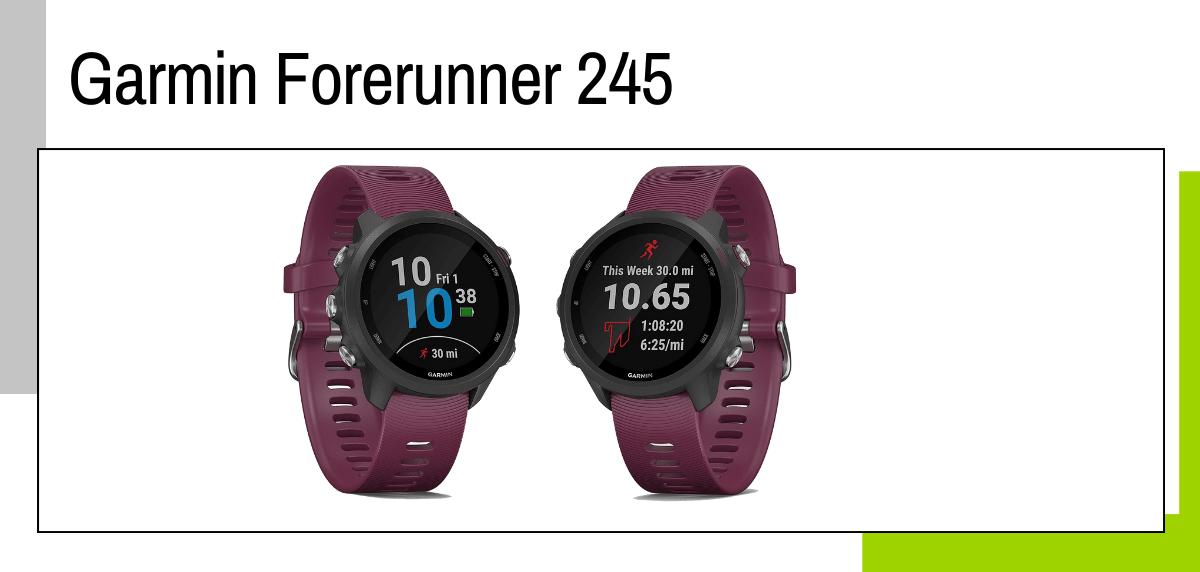 Las mejores ideas para regalar a un papá runner - relojes deportivos GPS: Garmin Forerunner 245