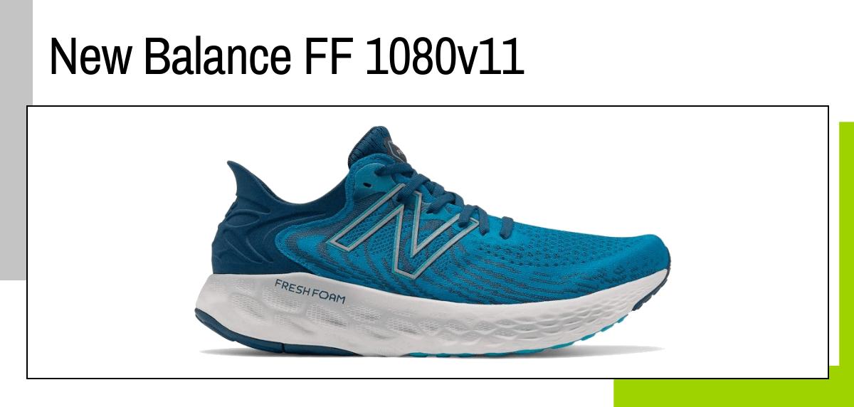 Las mejores ideas para regalar a un papá runner - zapatillas running: New Balance Fresh Foam 1080 v11