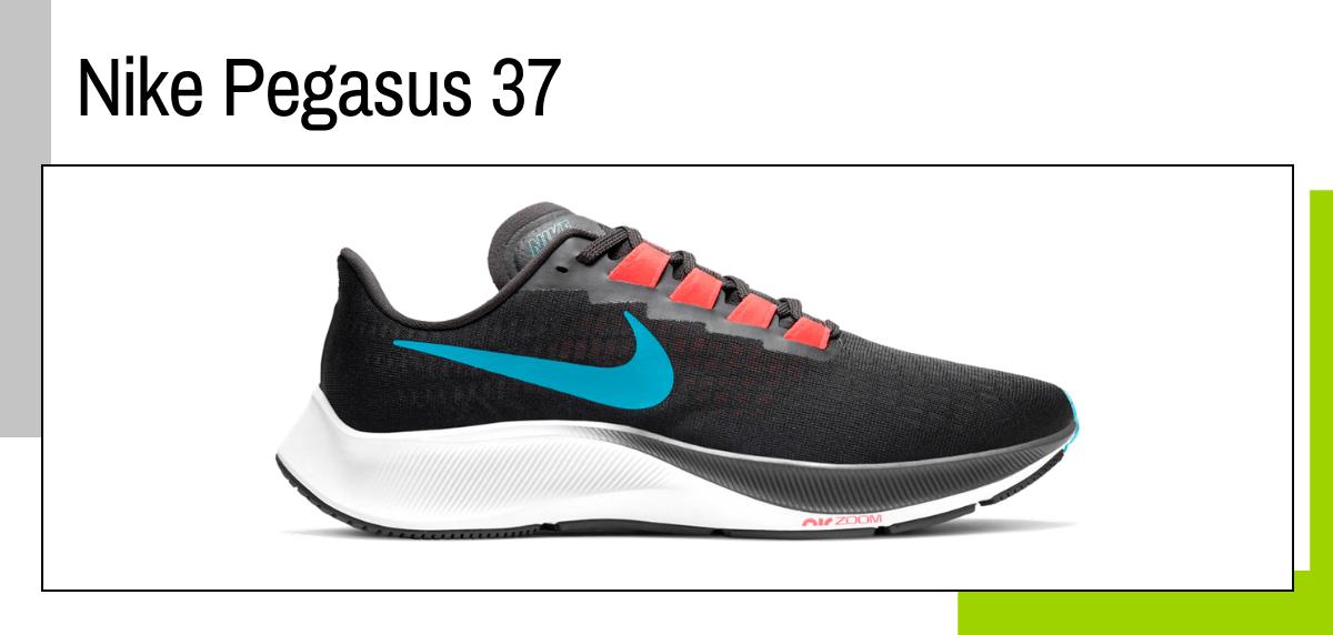 Las mejores ideas para regalar a un papá runner - zapatillas running: Nike Pegasus 37