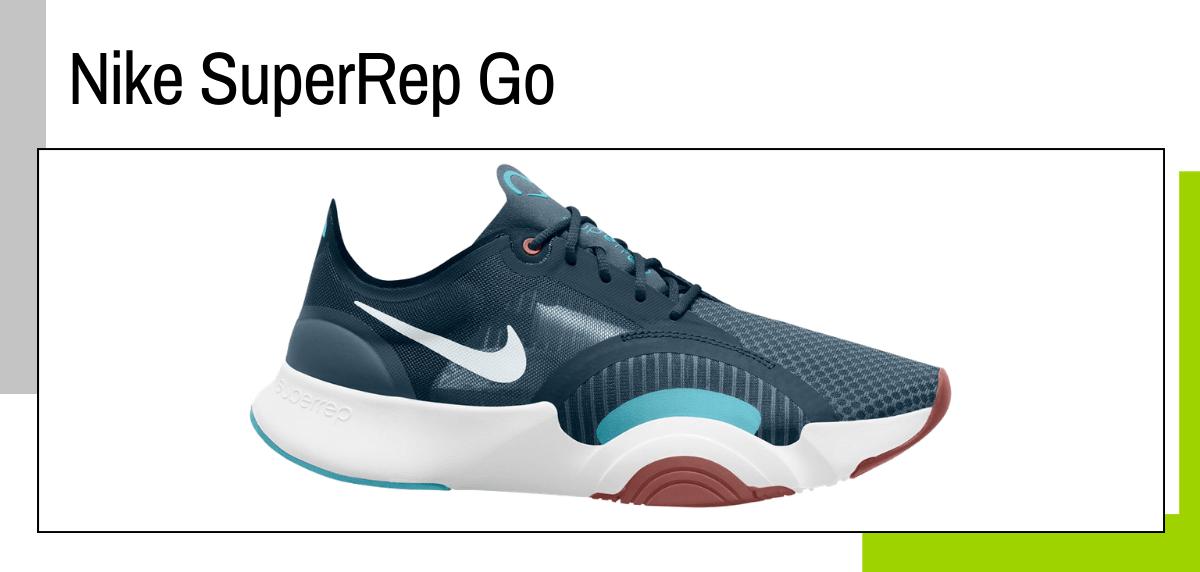 Las mejores ideas para regalar a un papá runner - zapatillas training: Nike SuperRep Go