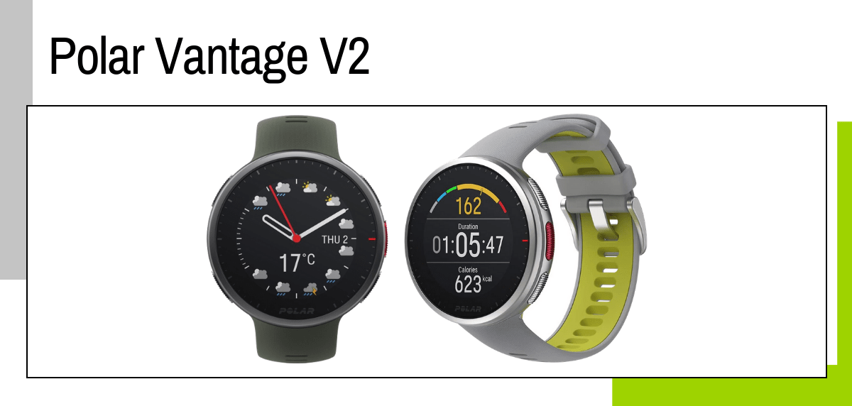 Las mejores ideas para regalar a un papá runner - relojes deportivos GPS: Polar Vantage v2