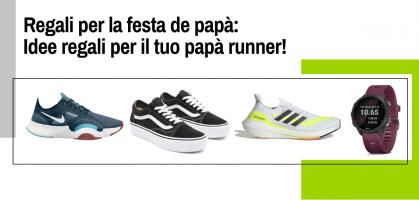 Regali per la festa del papà: idee regalo per un papà che corre