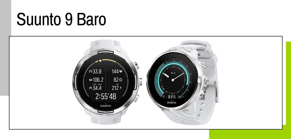 Las mejores ideas para regalar a un papá runner - relojes deportivos GPS: Suunto 9 Baro