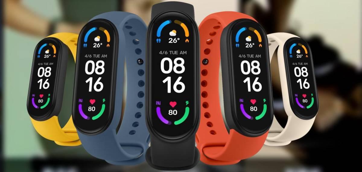 Xiaomi Mi Smart Band 6, características principales