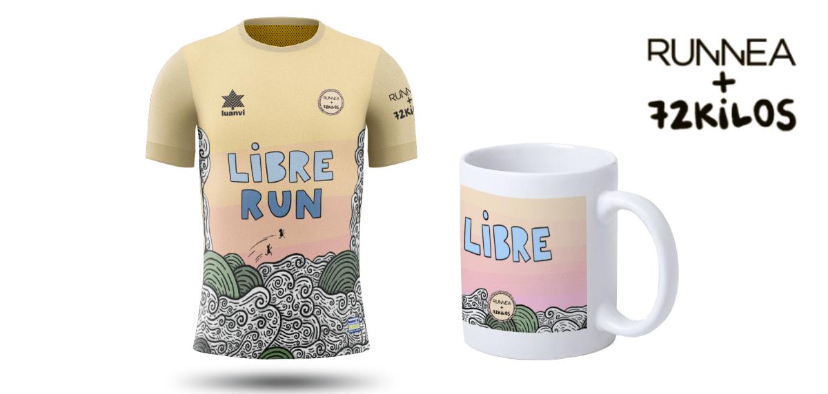 Libre Run by 72kilos, consigue la camiseta y/o la taza oficial de la carrera